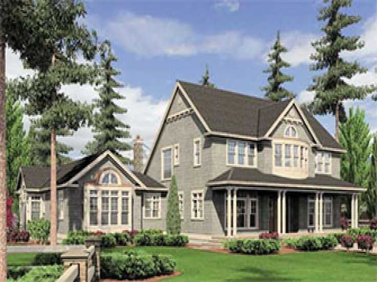 2695 best small house plans images on pinterest house for Craftsman house plans with mother in law suite