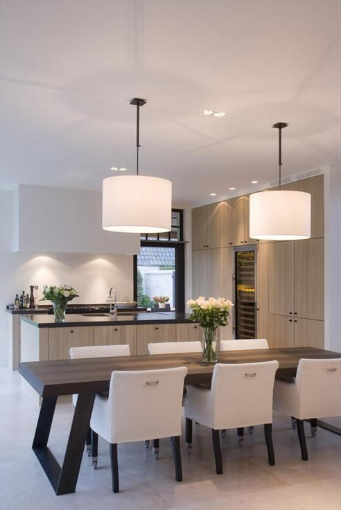 Sleek, contemporary kitchen styling.