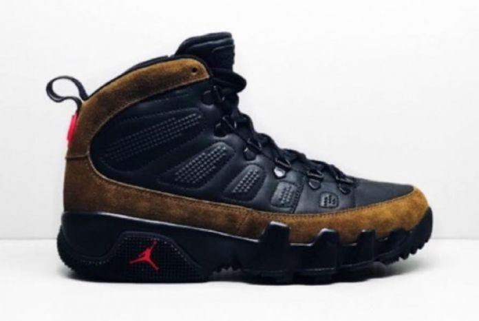 A Preview Of The Air Jordan 9 Boot NRG Olive
