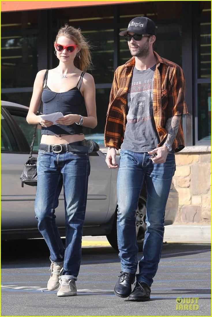 Adam Levine and his model girlfriend Behati Prinsloo