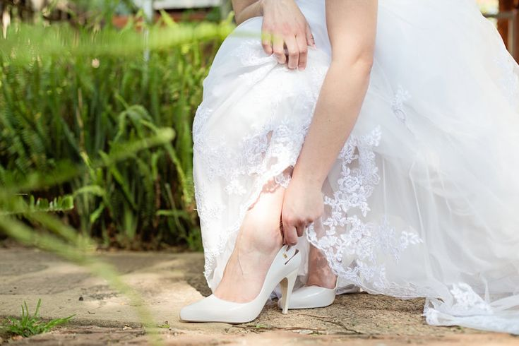Melissa Scented shoes.  White weddings   Abe & Charlene Photo By Clarisse Pieterson Photography