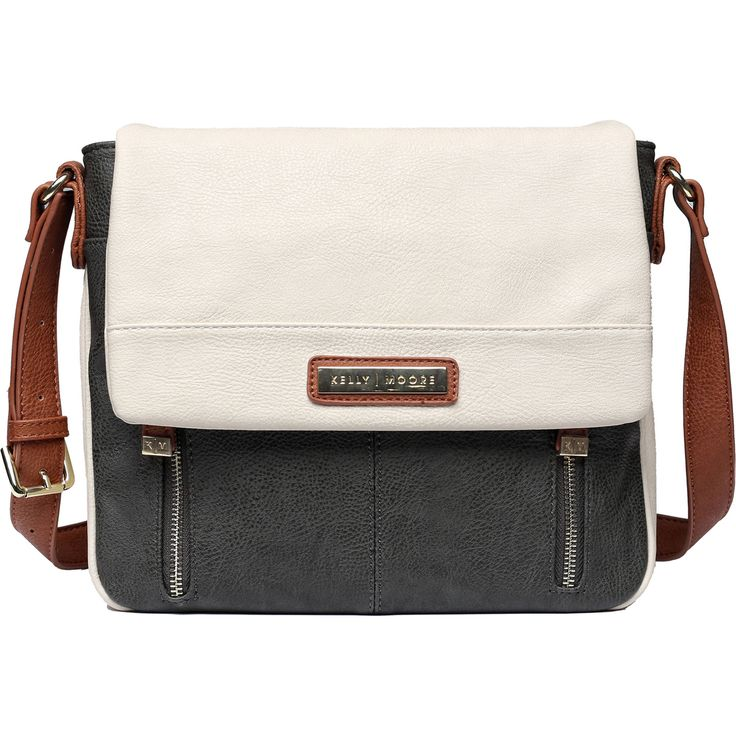 Kelly Moore Bag Luna Messenger Bag (Bone)
