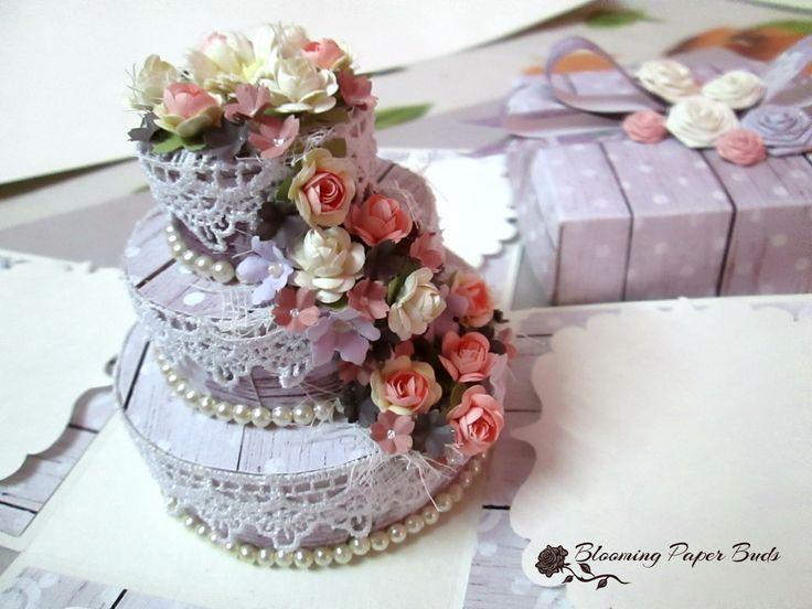 cake box ,Explosion box- Birthday card.