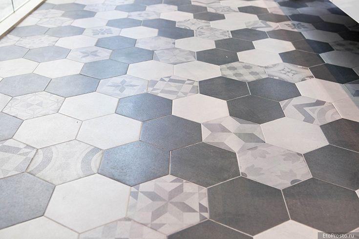 Обзор Cersaie 2014. Шестиугольная плитка и плитка под калакату
