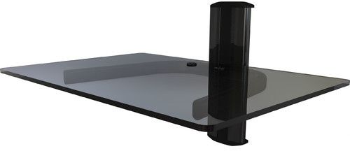 Crimson AV Single Shelf Wall Mount System with Cable Management