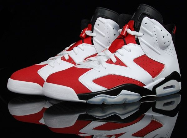 High quality&beauty Air Jordan 6 – Carmine White / Carmine – Black will  release on May