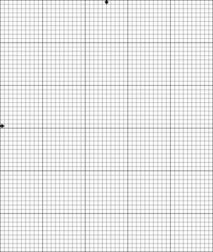 printable cross stitch grid - useful for charting your own designs, samplers and personalising a pattern!