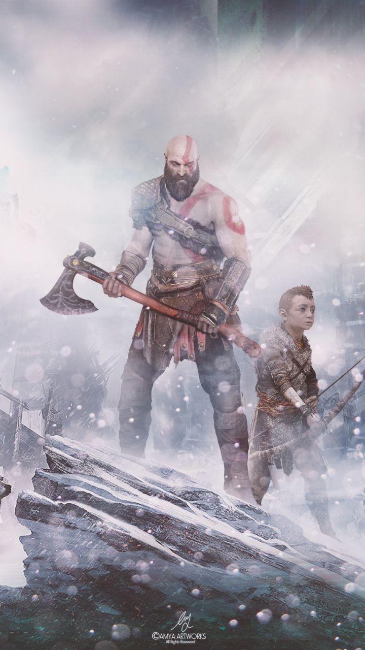 God Of War Video Game Warrior 720x1280 Wallpaper Kratos God Of War God Of War God Of War Kratos