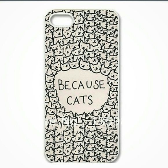 ??Host Pick??Phone case Host Pick 5/10 Best in Retail. Because cats hard phone case. For an iPhone 6 plus. My price is firm. Accessories Phone Cases