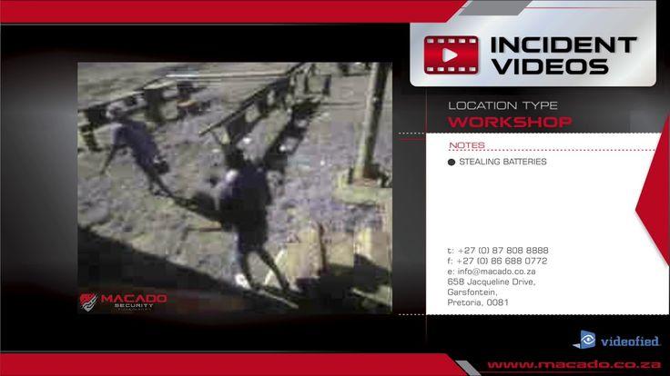 #1: WORKSHOP THEFT: Videofied Motionviewer, Siren & Voice Challenger  02...