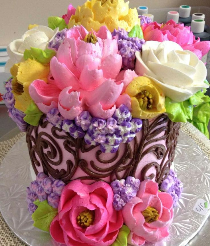 The 268 best white flower cakes images on pinterest flower cakes the white flower cake shoppe mightylinksfo