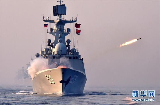 China Russia Joint Naval Exercise Concludes People S Daily Online China Russia Naval World Cultural Heritage