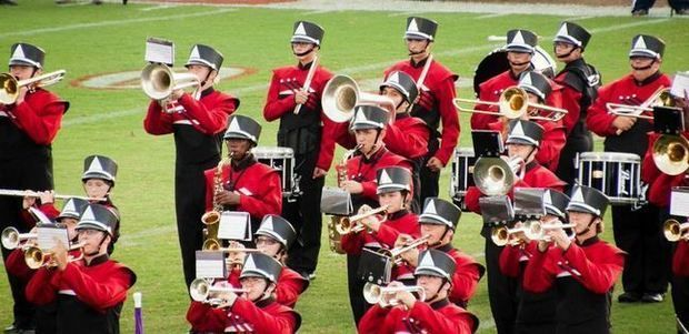 """""""HOW GREAT THOU ART"""" GETS MISSISSIPPI HIGH SCHOOL BAND PULLED FROM HALFTIME -- Brandon high school band.JPG"""