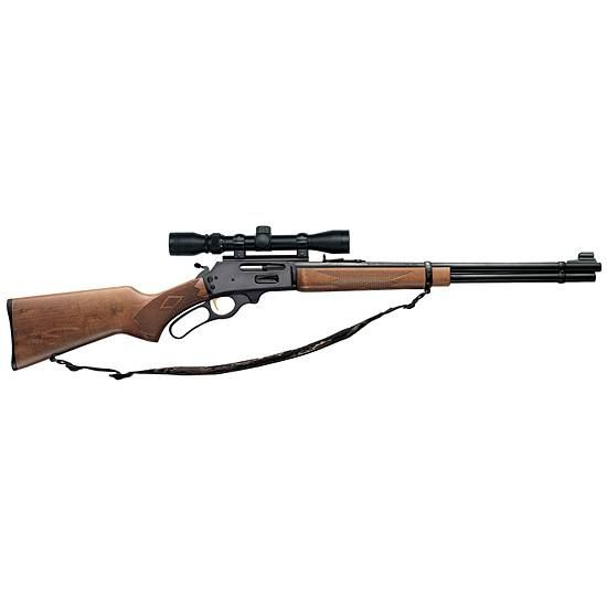 Marlin lever action rifle 30-30. I'd like to get more into lever action. Never owned one.