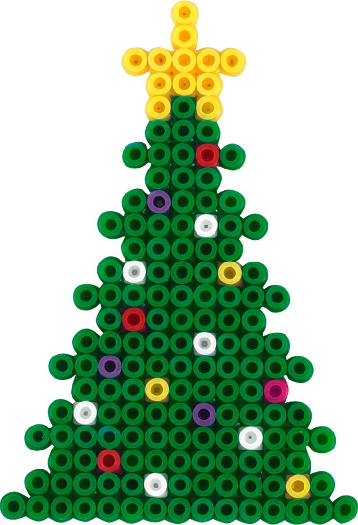 christmas tree hama beads trees perler kerstboom