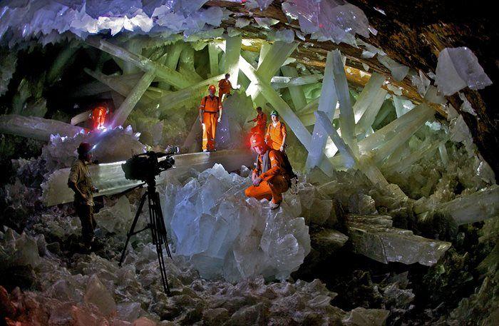 Το σπήλαιο των κρυστάλλων, Naica, Μεξικό