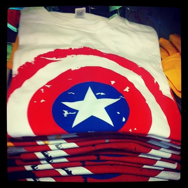 #star #tshirt #white