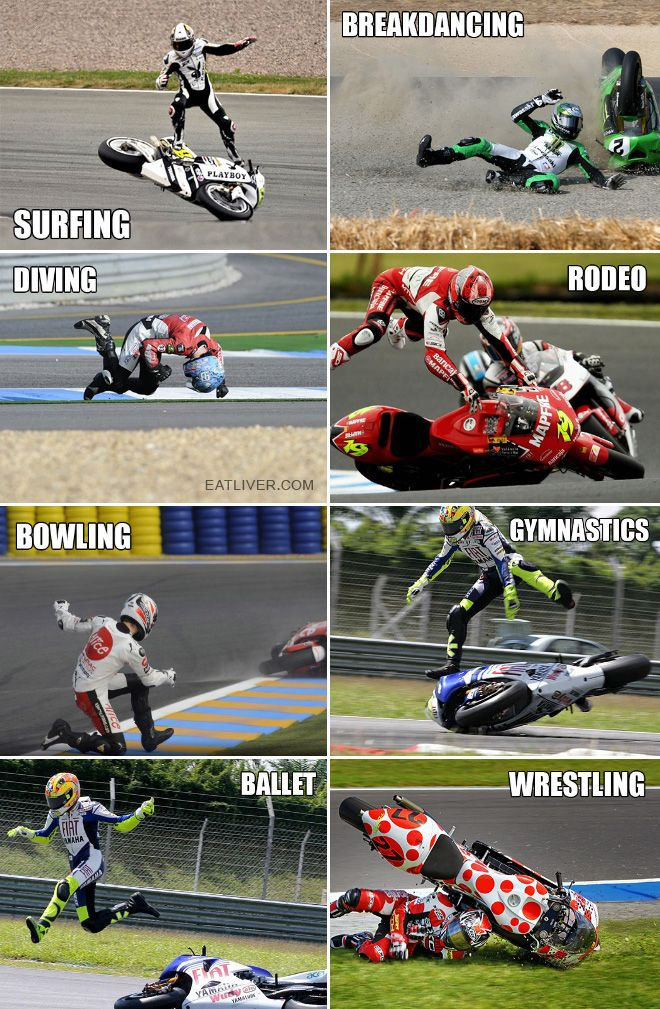 There Are Many Sorts of Motorbike Racing