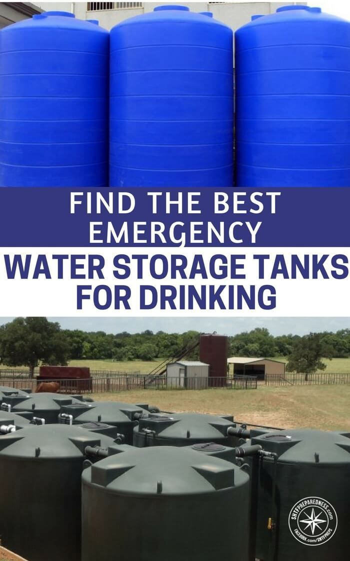 How To Find The Best Emergency Water Storage Tanks For Drinking - This article focuses not on the water itself but on the vessel you are deciding to store it in. With a working tap its arguable that you only need a great tank and you are going to be prepared. Focus on preparing for a water emergency. | Posted by: SurvivalofthePrepped.com
