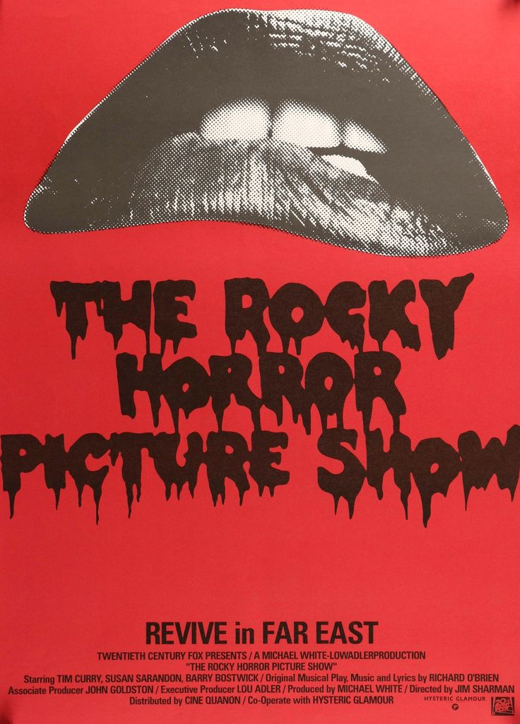 """Rocky Horror Picture Show (1975) Vintage R97 Japanese Movie Poster - 20"""" x 29"""""""