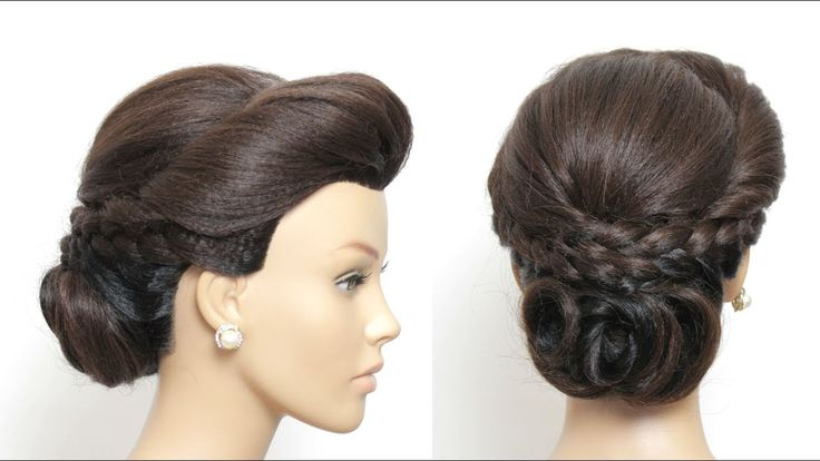 Kate Middleton Updo Hairstyle For Long Medium Hair Tutorial