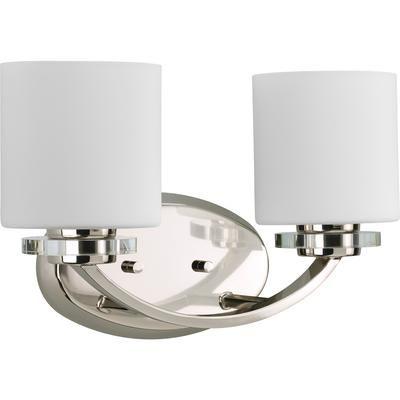 Thomasville Lighting - Nisse Collection Polished Nickel 2-light Bath Light - 785247167302 - Home Depot Canada