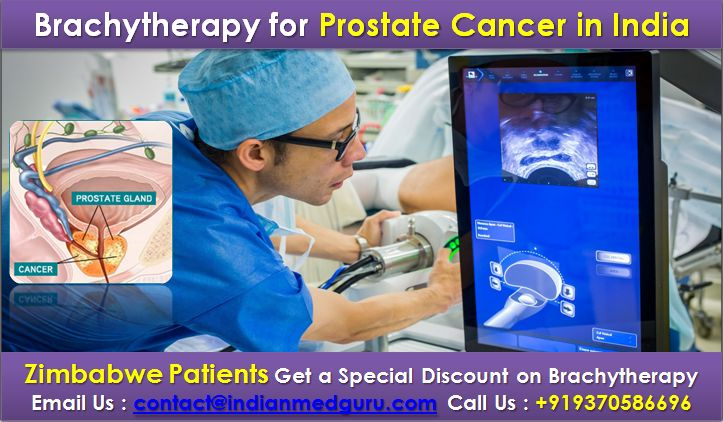 What is the Cost of Brachytherapy for Prostate Cancer in India?