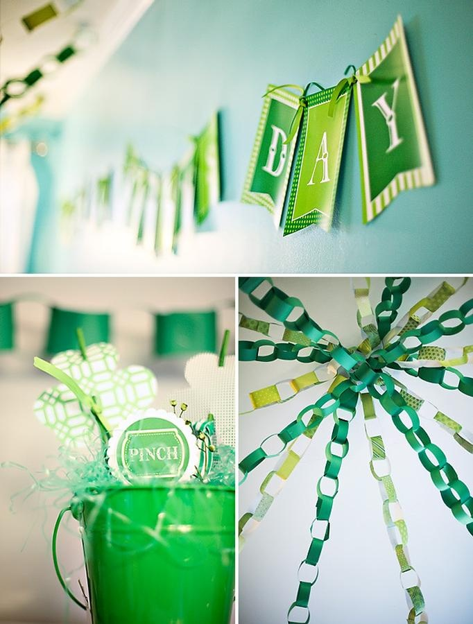St patrick 39 s day party party ideas pinterest for St patricks day home decorations