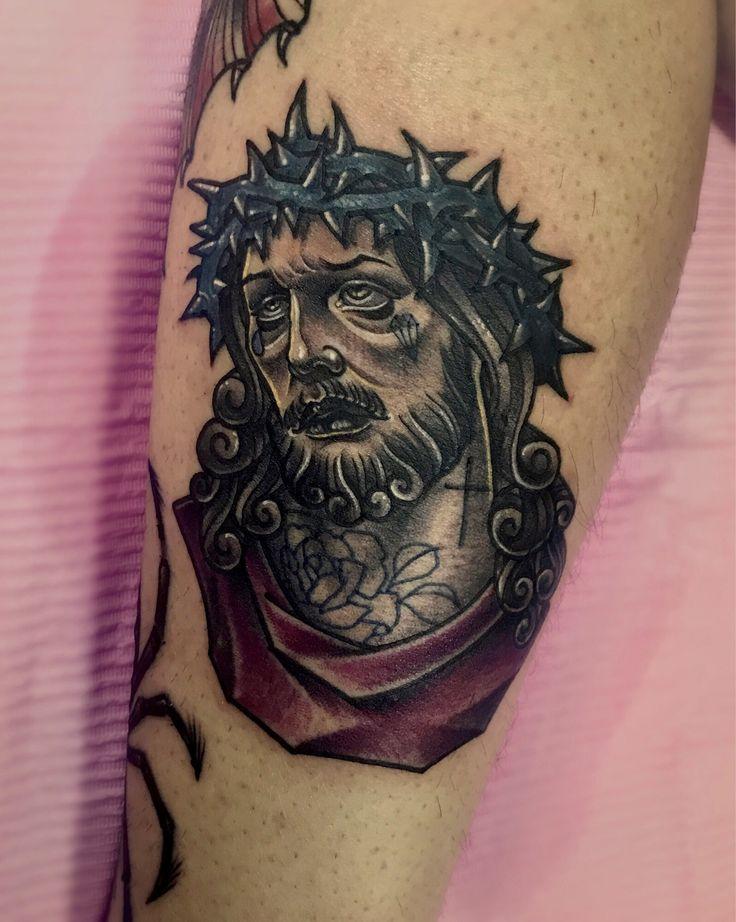 #jesus  - Tattoo machines by @cstattoomachine 타투상담&문의: 카톡:qpqpgi / 010.9078.7474 #jesustattoo#예수타투#이바사타투#크리스탈타투#tattoovim