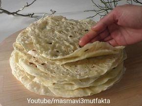 Mayasız Lavaş Ekmeği Tarifi