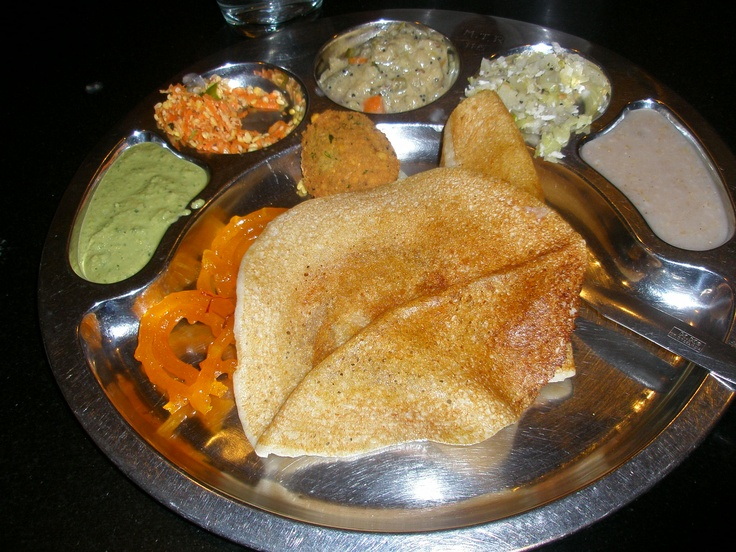 Bangalore, India Mavalli Tiffin Room (MTR) is the most