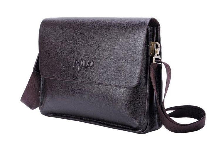 Universal Men POLO VIDENG Messenger Bag Quality Shoulder Handbag Faux Leather