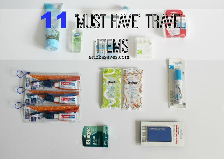 11 Must Have Travel Items #LetsTalkBums #sp