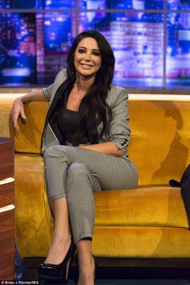The truth: Tulisa Contostavlos spoke for the first time about the work she's had done on her face on the Jonathan Ross show, airing on Saturday night