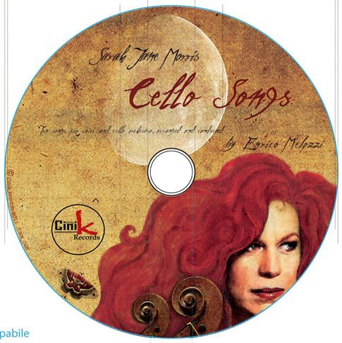 """Music Graphic - """"Cello Song"""" progetto grafico per il nuovo album di Sarah Jane Morris prodotto da Cink Records"""