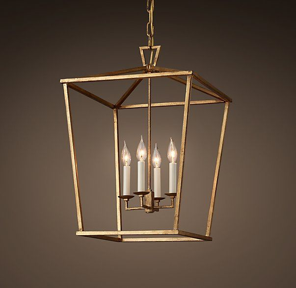Restoration Hardware Lights For Less: 19Th C. English Openwork Pendant
