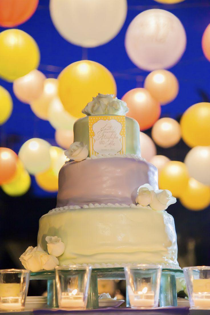 wedding Item cake#WEDDING #TRUNK #OneHeart #Cake#resort