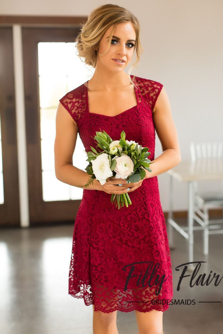 104 best bridesmaid dress images on pinterest affordable the perfect and classic dress for any wedding and any season this beautiful lace bridesmaid dress is complete with a capped sleeve and a cut out back ombrellifo Choice Image
