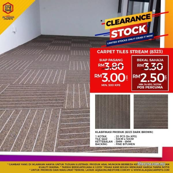 Other For Sale Rm3 In Klang Selangor Malaysia If U Want Impress Someone Put This Tile On Floor Grab Our Stoc Carpet Tiles Carpet Runner Beautiful Carpet
