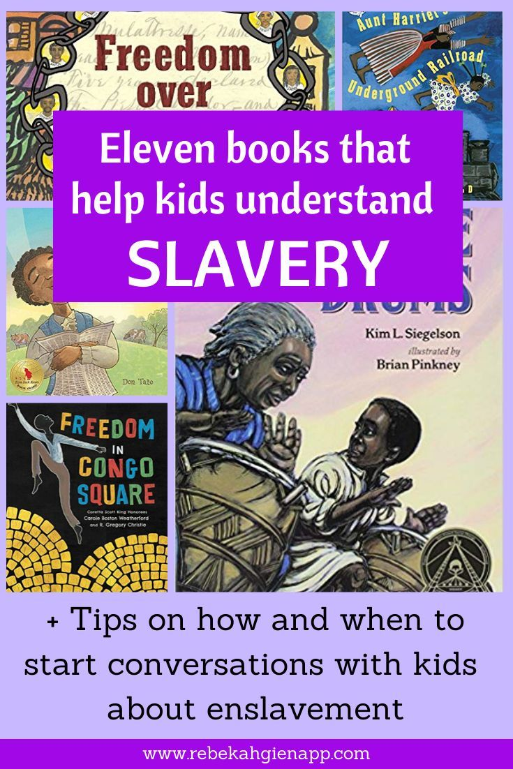 How Should We Talk With Children About Slavery The Barefoot Mommy Book Reviews For Kids Kindergarten Books Preschool Books
