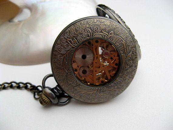 Antique Bronze Pocket Watch 1882's