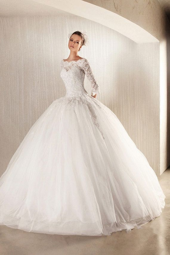 Best 25  Puffy wedding dresses ideas on Pinterest | Princess ...