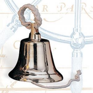 "10"", 12"", & 14"" Large Heavy Brass Hanging Bells. These are tremendous cast bells; the thickest on the market for their size. That makes the tone incredible sounding. Sizes ranging up to 32 lbs. of premium brass. Largest one meets U.S. Coast Guard Requirements for vessels over 20 meters (65.6 feet), and (12"", 10"" and 8"") bells for vessels under 20 meters in length.  Ship bells come with a durable rope loop to use in hanging your bell. Also includes a rope lanyard …"
