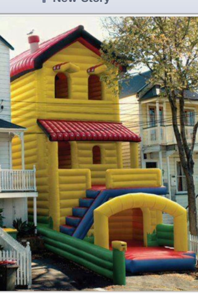 119 best Bounce House Favorites images on Pinterest | Bouncy house ...