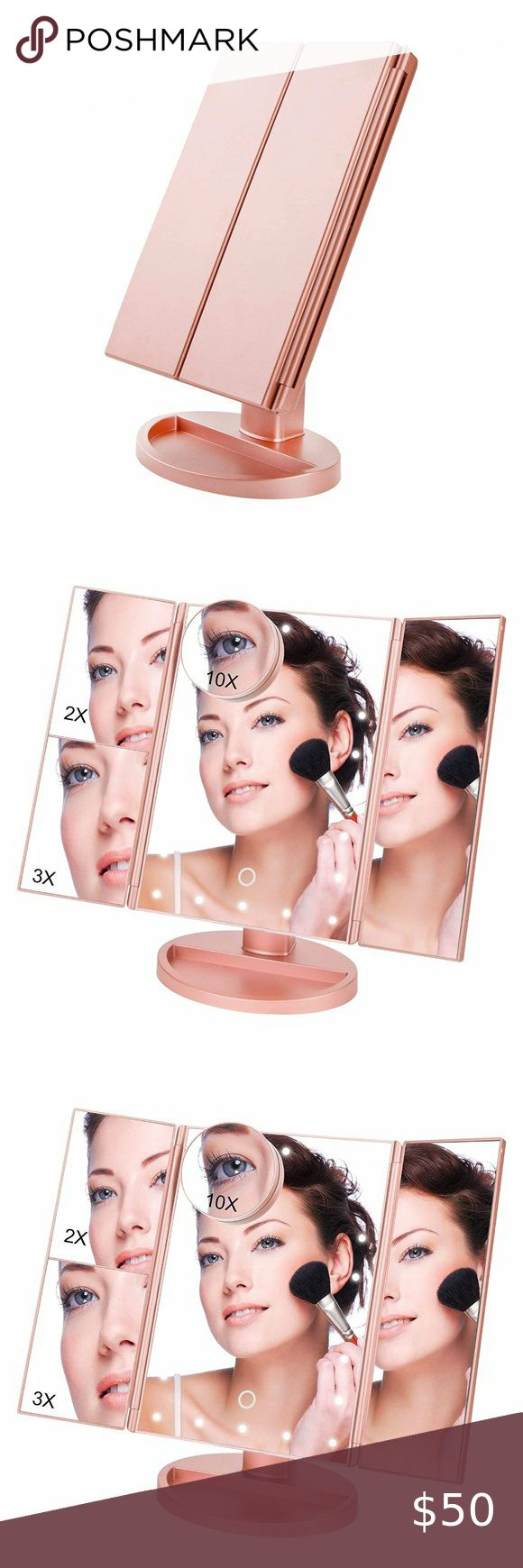 Makeup Vanity Cosmetic Mirror 21 LED Lights in 2020