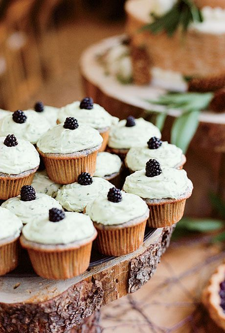 Quirky cupcake flavors like blackberry-basil were created by a local bakery discovered at a farmer's market.