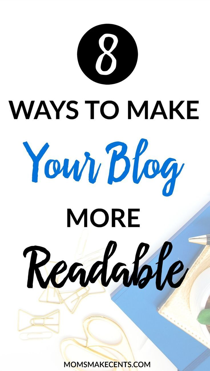 """Is your bounce rate super high? It could be that you need to make your biog more """"readable."""" Check out my top tips for improving readability which will decrease your bounce rate and increase the number of people that read your post! 