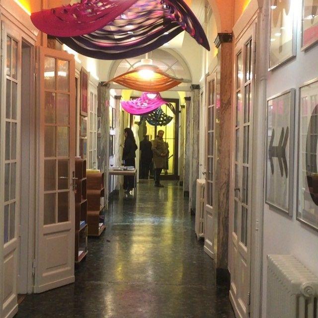 Via atelieroi on instagram VIDEO Artemide Danese - événement danesemilano via Canova - Les Danseuses de atelier oï.
