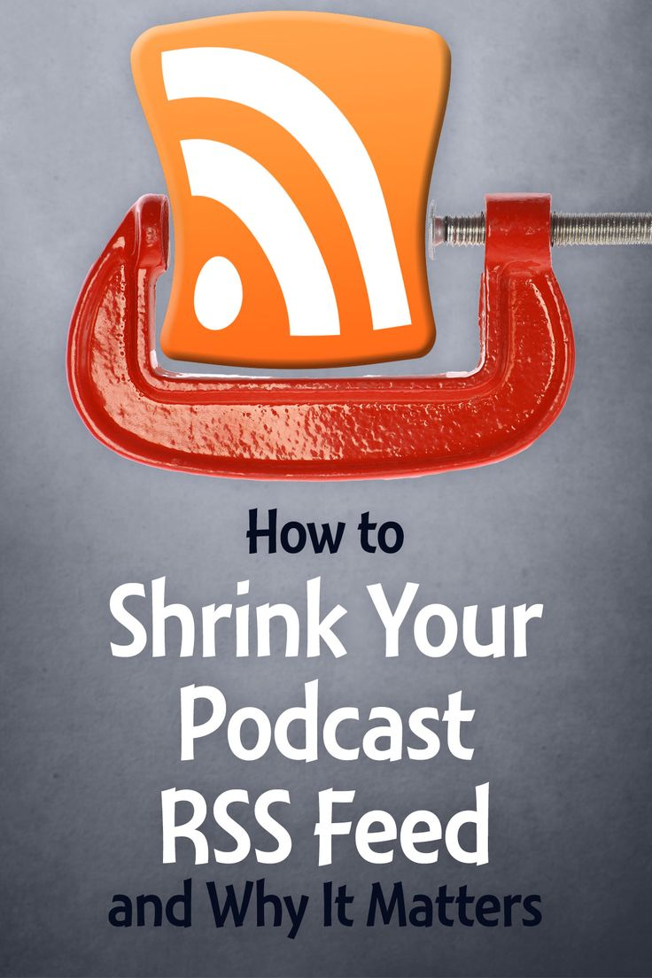 how to get an rss feed for a podcast