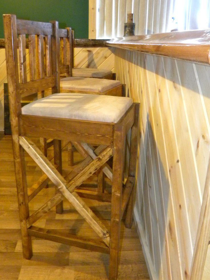 Rustic Bar Stools Modified from plan & Best 25+ Vintage bar stools ideas on Pinterest | Bar stool White ... islam-shia.org